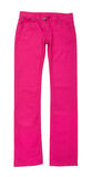 Bright pink jeans Royalty Free Stock Photos