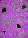 Bright  pink mosaic Stock Photos