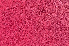 Bright pink plaster wall Stock Photos