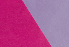 Bright pink and purple paper texture background diagonal Stock Photography