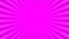 Bright pink rays background Stock Photography