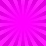 Bright pink rays background Stock Images