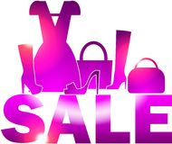 Bright pink sale Stock Photography