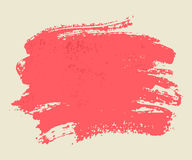 Bright pink watercolor brush  strokes. Stock Images