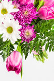 Bright pink and white flower bouquet Royalty Free Stock Photos