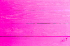 Bright pink wooden painted surface Stock Photos