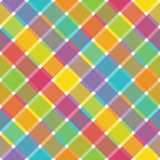 Bright Plaid Stock Images