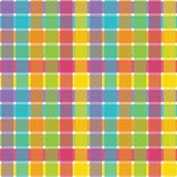 Bright Plaid Royalty Free Stock Photo