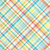 Bright Plaid Illustration Royalty Free Stock Images