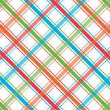 Bright Plaid Pattern. Plaid background pattern in bright summer colors Stock Images