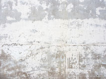 Bright plastered wall surface with small cracks. Clean the plastered surface of the wall Royalty Free Stock Photo