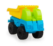 Bright plastic baby car Stock Images