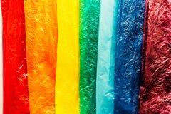 Colors of the rainbow stock photos