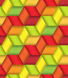 Bright Plastic Basketwork. Stock Image
