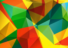 Bright polygonal background Royalty Free Stock Photography