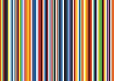 Bright Pop Art Retro Stripe Vertical Flat Line Pattern Background royalty free illustration
