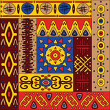 Bright positive African ornament Royalty Free Stock Image