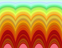 Bright psychedelic pattern Royalty Free Stock Image