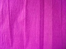 Bright purple background. texture of corrugated paper stock photo