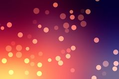 Bright purple sparkles background. Golden glitter. Festive texture. From bright yellow to dark purple, including red and pink. Stock Image