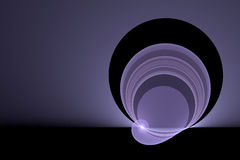 Bright purple swirl Royalty Free Stock Photos