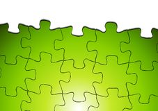 Bright puzzle vector background Royalty Free Stock Image