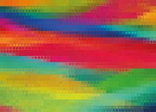 Bright rainbow abstract vector background stock illustration