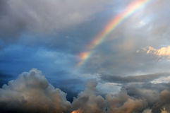 A bright rainbow Royalty Free Stock Photography