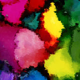 Bright rainbow mosaic Royalty Free Stock Photos