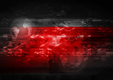Bright red abstract background Royalty Free Stock Photo