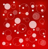 Bright red abstract background Stock Image