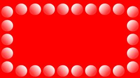 Bright red Abstract background shining light round Royalty Free Stock Photography