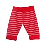 Bright red baby trousers isolated Royalty Free Stock Photography