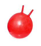 Bright red ball-kangaroo Stock Photo