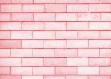 Bright red brick wall texture background. Bright red brick wall texture or background stock photography