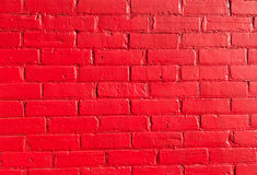 Bright red Bricks Stock Photography