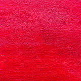 Bright red color abstract textured canvas background Royalty Free Stock Photo