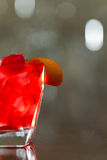 Bright red drink Royalty Free Stock Photos