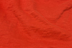 Bright Red fabric background Royalty Free Stock Photo