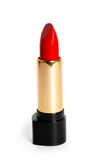 Bright red female lipstick Royalty Free Stock Photo