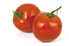 Bright red fresh tomatoes Stock Image