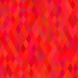 Bright Red Geometric Background. Vector Illustration Stock Images