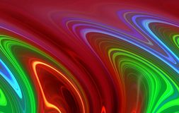 Bright red green purple background, vivid colors, shades, graphics Royalty Free Stock Photography