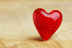 Bright red heart background Stock Photo