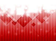 Bright red hi-tech background Royalty Free Stock Photo