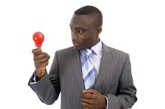 Bright Red Idea Royalty Free Stock Photo