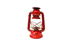 Bright red lantern Royalty Free Stock Photos