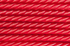 Bright Red Licorice Candy Royalty Free Stock Photo