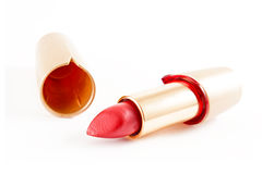Bright red lipstick Royalty Free Stock Photography