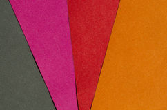 Bright red, orange, pink and black paper texture background Royalty Free Stock Photos